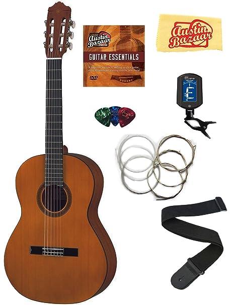 Yamaha cgs103 a 3/4 - Guitarra clásica Bundle con DVD de ...