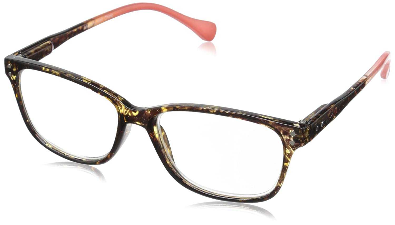 Peepers Women's Nature Walk 937100 Rectangular Readers Blue 1.75 Peepers Reading Glasses 940175