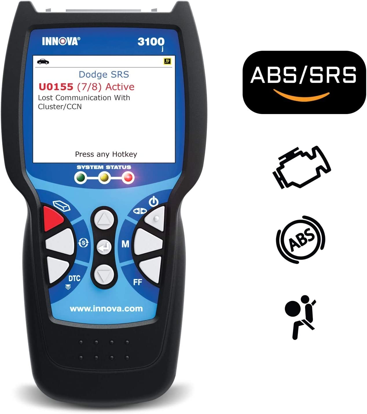INNOVA 3100j CanOBD2 Diagnostic Tool & ABS