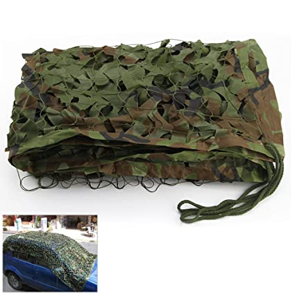 huge discount cheapest price amazon Filet de camouflage - Utilisation militaire, dans le désert, au camping, à  la chasse, comme pare-soleil
