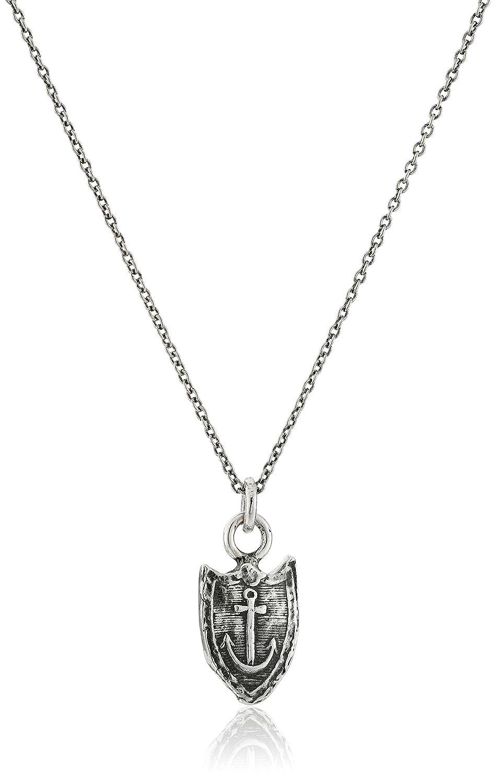 Pyrrha Unisex Unshakeable Sterling Silver Petite Talisman Pendant Necklace Pyrrha Design Inc N1111-18