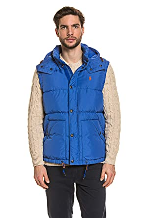 Polo Ralph Lauren Mens Vest Dark Blue, tamaño:XL: Amazon.es: Ropa ...