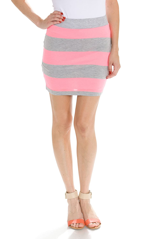 Big Star Women's Striped Skirts BG-SKT