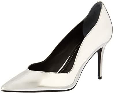 b61874ad445 Women s Shoes Kendall and Kylie Brianna Silver Pump Spring Summer 2018