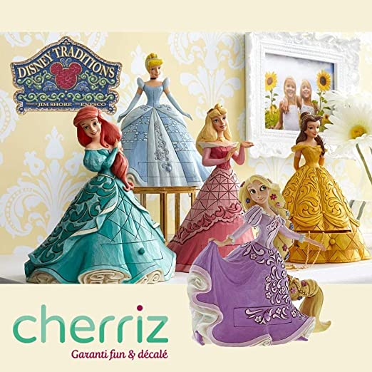Générique Pack de 5 Figuras Princesas Disney con Charms: Amazon.es ...