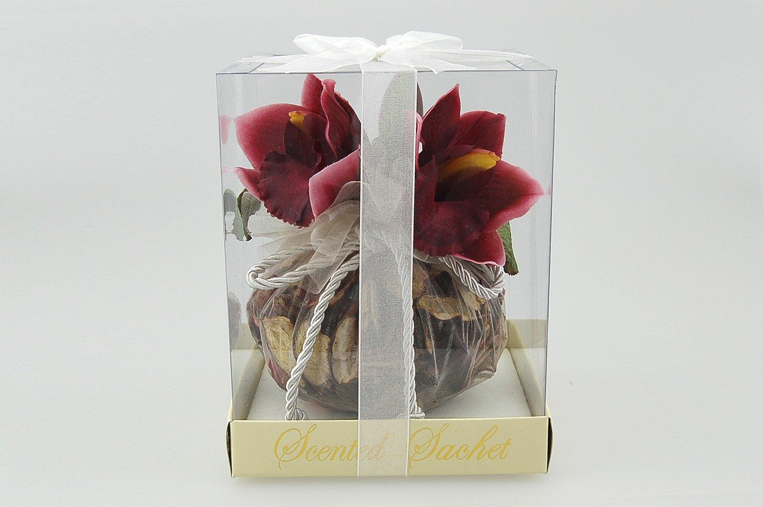Flora Bunda DF223 Sachet with Orchids in PVC Box (Asst, 24pcs) by Flora Bunda