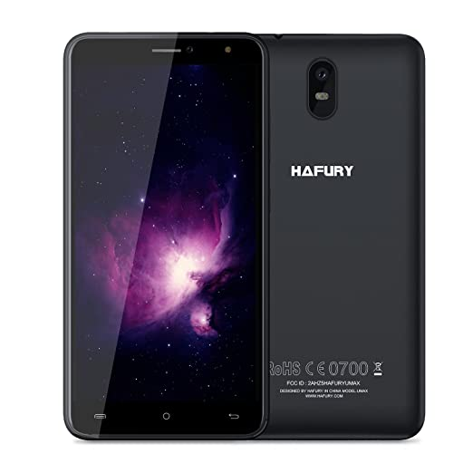 """3 opinioni per CUBOT HAFURY UMax- 3G Android 7.0 Smartphone libero (Touch Screen 6.0 """"HD,"""