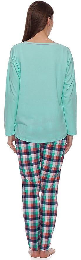 Italian Fashion IF Mujer Pijamas Manuela 0223 (Pistacho, S): Amazon.es: Ropa y accesorios