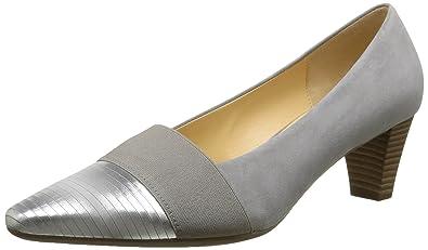 Gabor Wallace, Escarpins Femme - Beige - Beige (Beige Metallic Leather), 39 EU