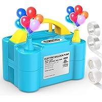 Dr.meter Balloon Pump Portable Electric Air Balloons Pump (Blue)