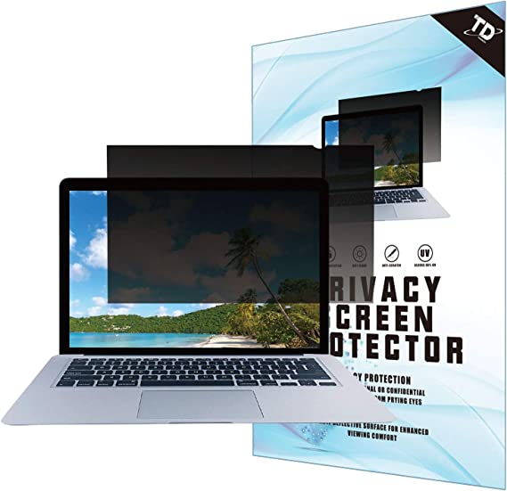 14''W Inch Privacy Screen Filter for Widescreen Laptop - Anti-Glare