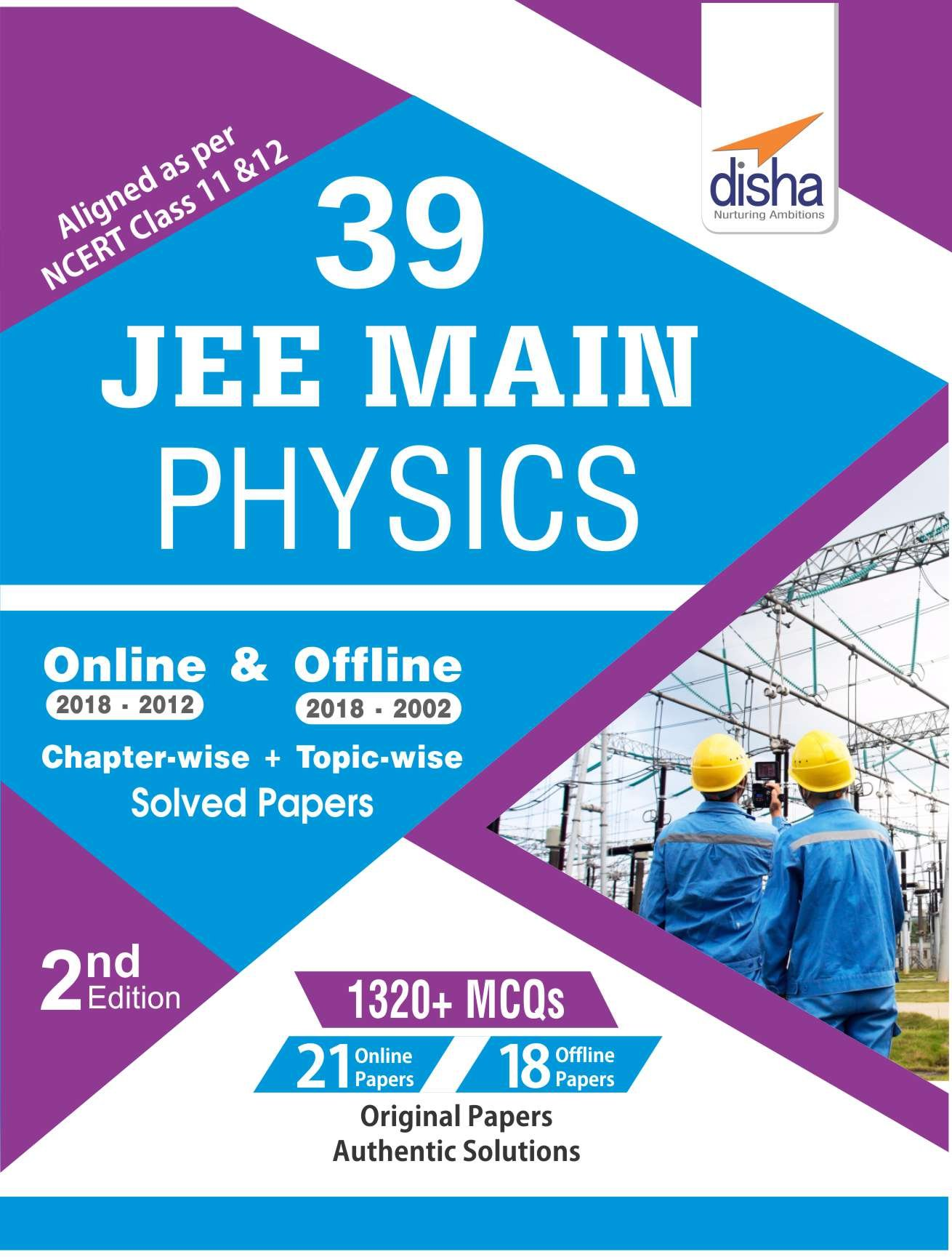 39 JEE Main Physics Online 2018-2012 & Offline 2018-2002 Chapter