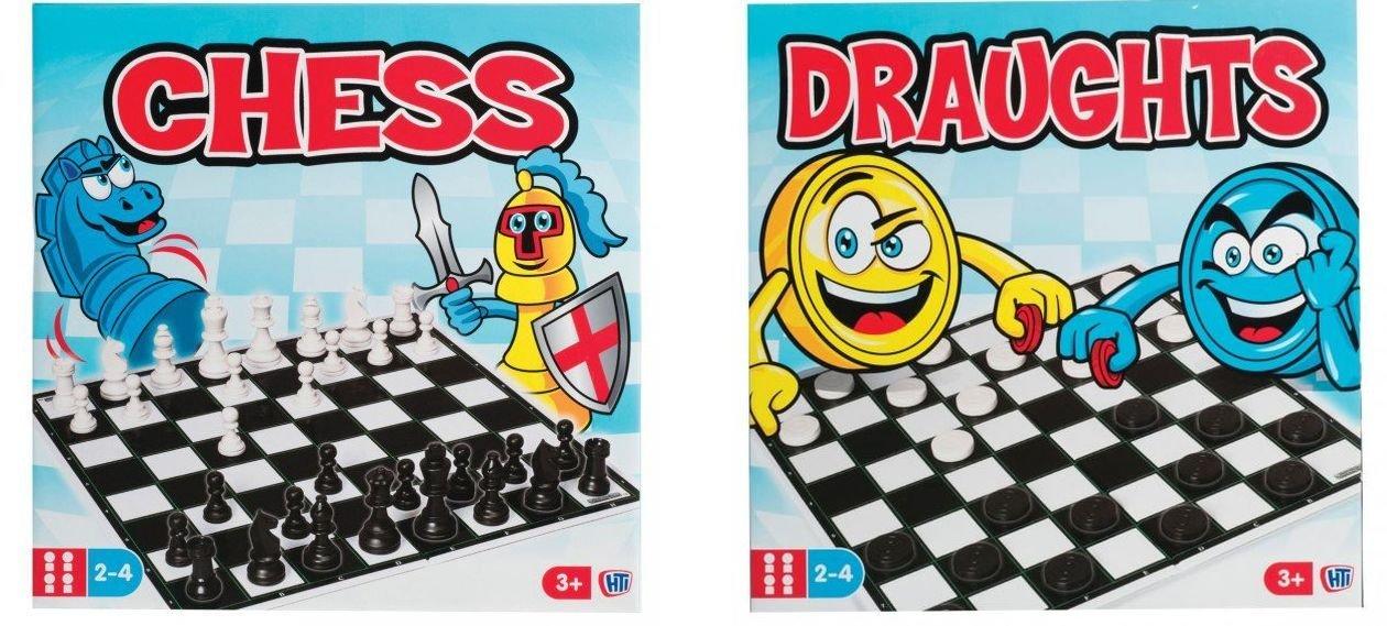 魅力的な Twice the – Fun。2。2 x Traditional Games – チェス& B01LRYZXMW Draughts。2つGreatクラシックゲームFun for All the Family。 B01LRYZXMW, ラコッコ:0221d028 --- by.specpricep.ru