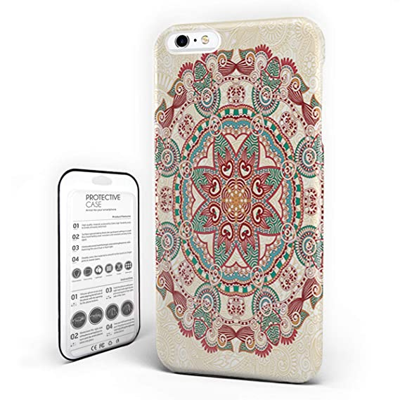 Amazon Com Customize Phone Protective Cover Round Paisley Floral