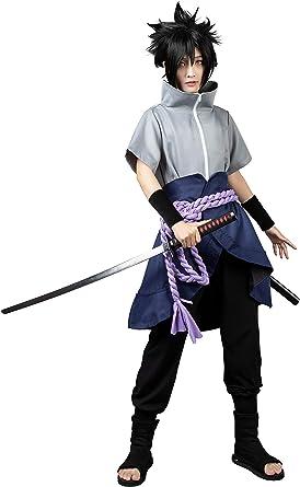 CosFantasy Uchiha Sasuke Ninja The 6th Generation Cosplay Costume mp003607