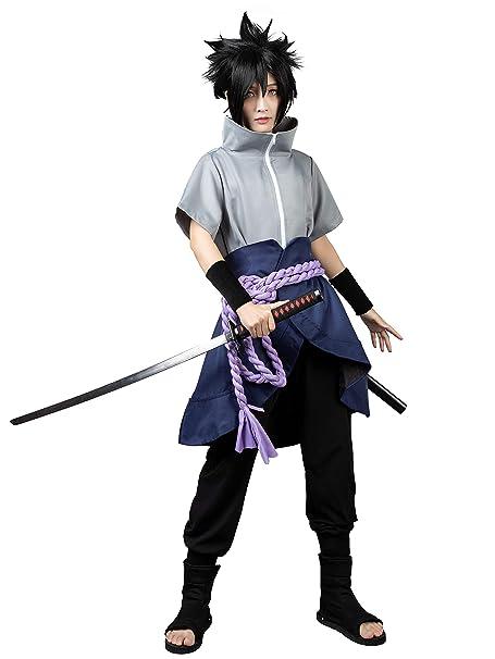 Amazon.com: CosFantasy Uchiha Sasuke Ninja - Disfraz de ...