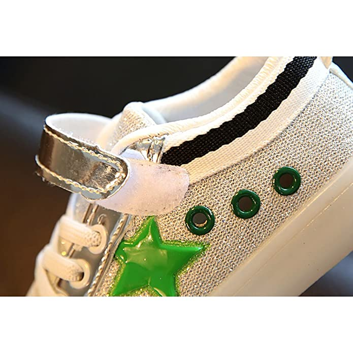 6065dd8f0c3f BININBOX Kids Casual Sneakers Bling Light Up Shoes for Boys Girls  Amazon.ca   Shoes   Handbags