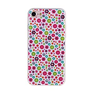 TOOPOOT Retro Flower Pattern TPU Case for iPhone 7 4.7inch (a)