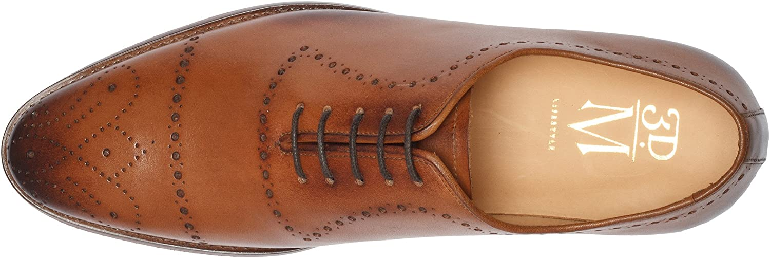 3DM Lifestyle Mens Leather Lined Oxfords Shoes