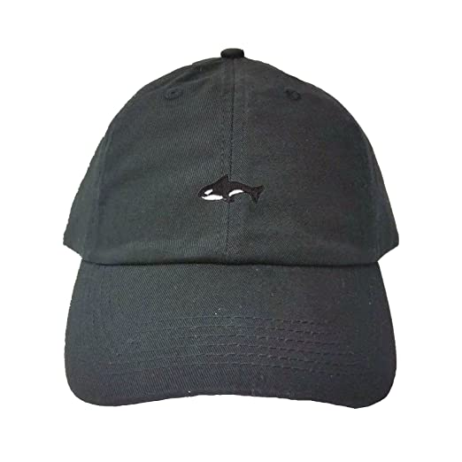 de936c34027 Adjustable Black Adult Orca Killer Whale Embroidered Dad Hat. Roll over  image to zoom in. Go All Out