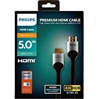 Philips Premium 18 Gbps 4K 60 Hz HDMI Kablosu 5 Metre