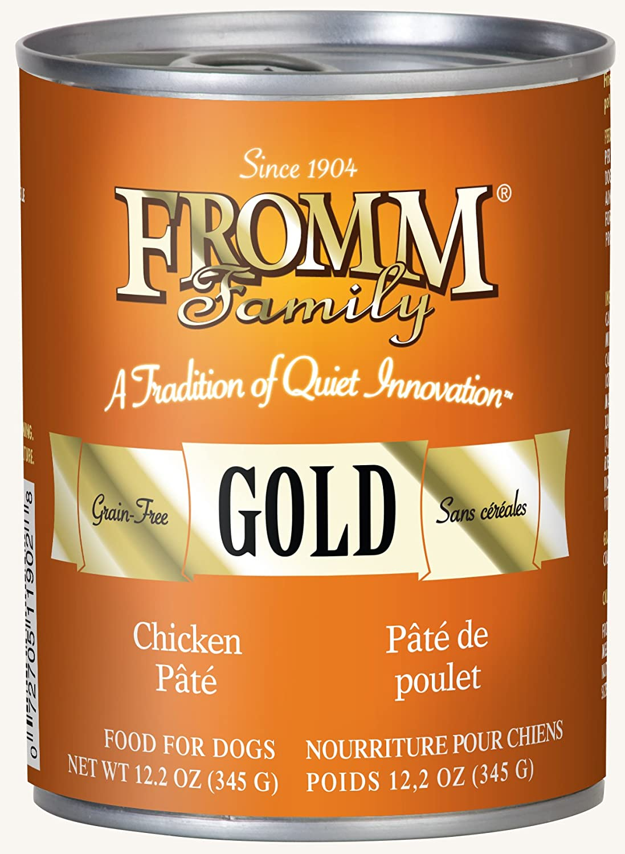 Fromm Gold Chicken Pâté 12.2oz / case of 12
