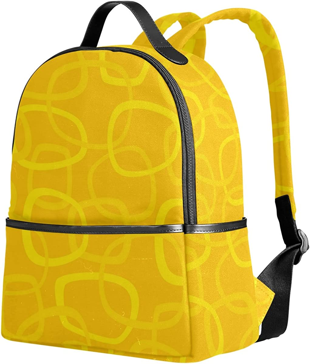 Mr.Weng Pubble Printed Canvas Backpack For Girl and Children