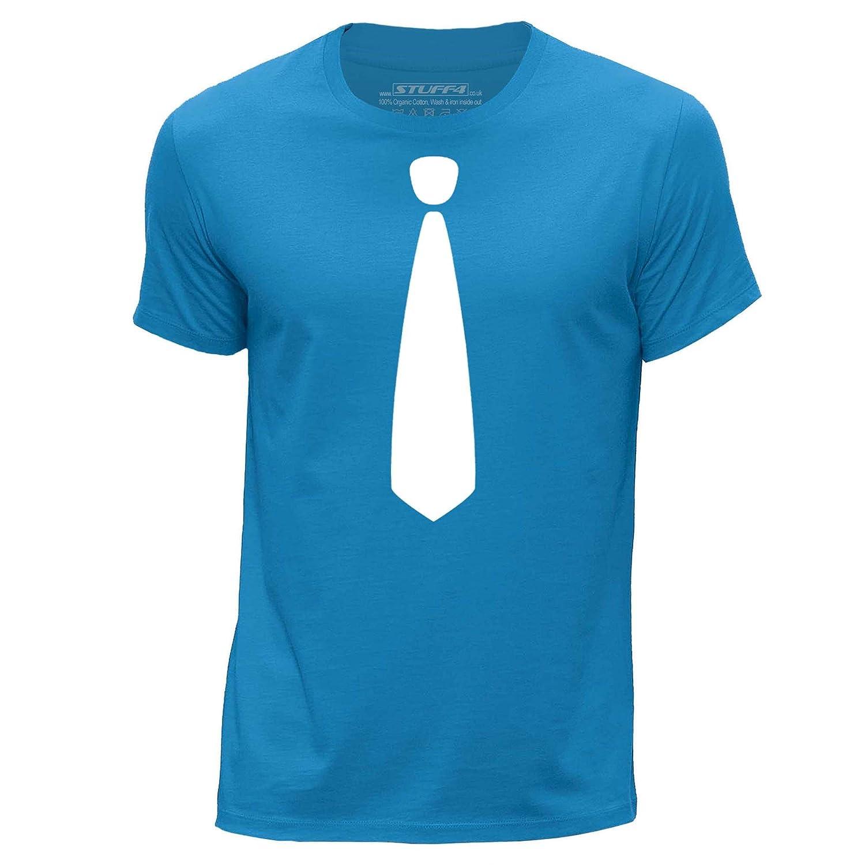 Stuff4 Hombres/Grande (L)/Azul/Cuello Redondo de la Camiseta/Moda ...