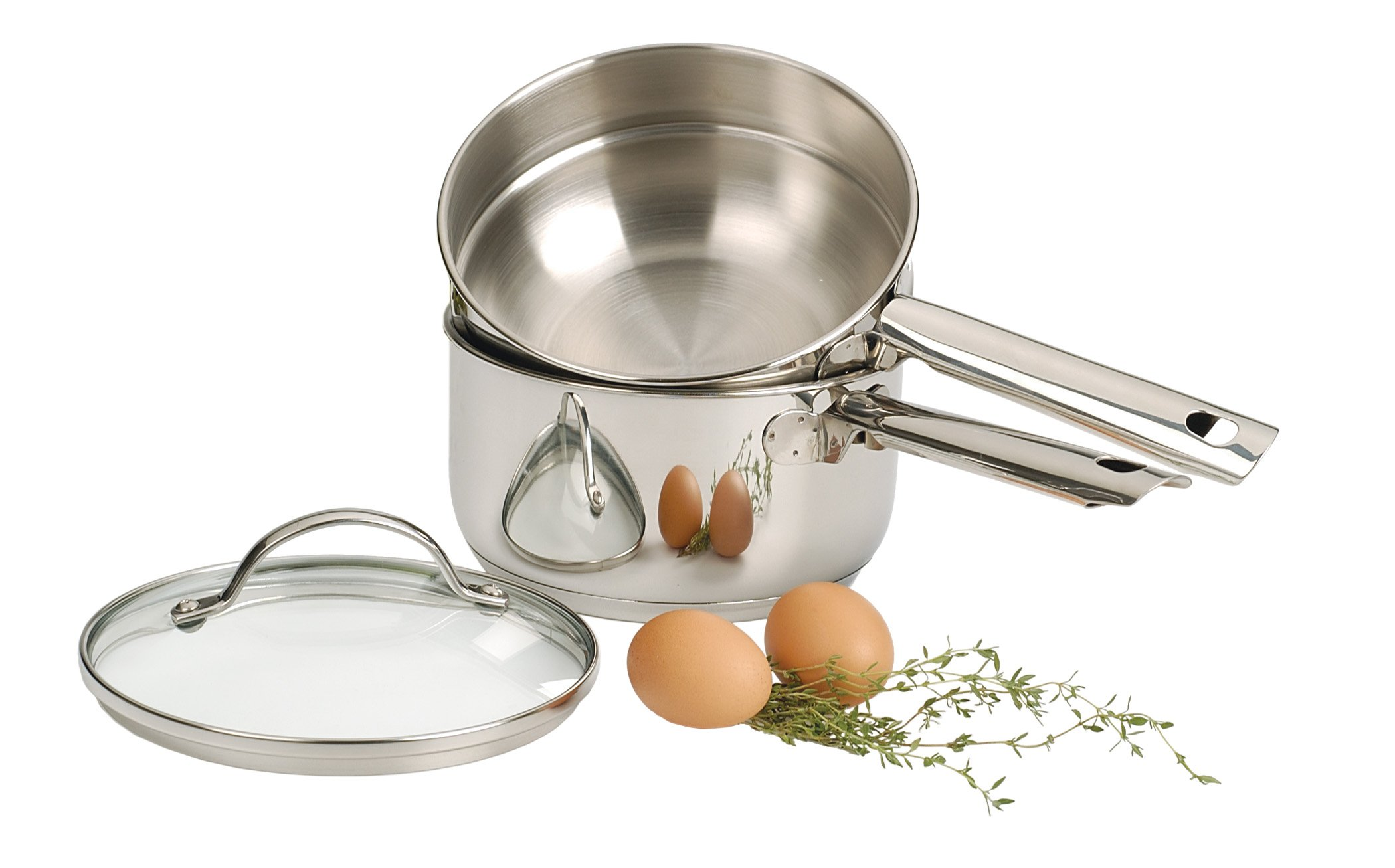 RSVP Endurance 2-Quart Stainless Steel Induction Double Boiler by RSVP International (Image #2)