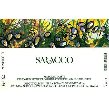 Saracco Moscato d'Asti 2012