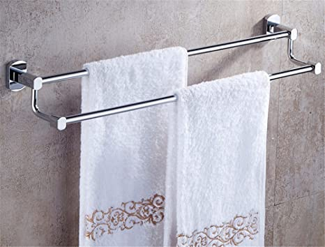 Portasciugamani Bagno A Muro : Mmdlai la doppia porta asciugamani in bagno portasciugamani muro