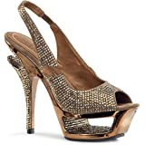 Pleaser Day & Night - Deluxe-654RS - sexy plateau talon hauts chaussures femmes avec strass 35-40