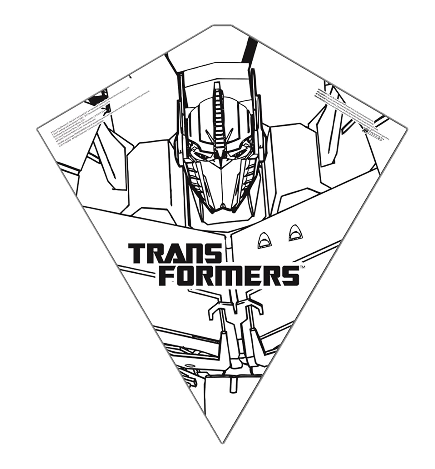 Color Me Kite 26-inches Tyvek Diamond Kite: Transformers B00IHN4GEI