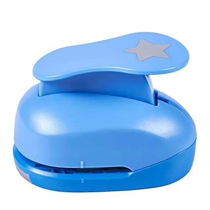 Amazon Paper Punch Shapes Star Shaped Hole Puncher For