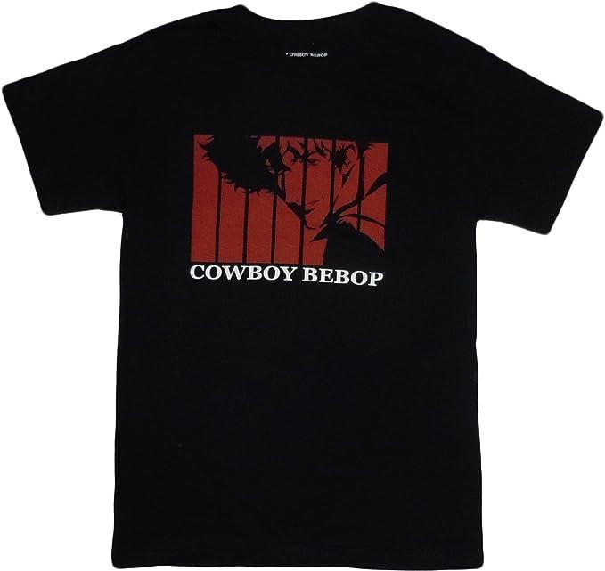 e0ae9f9a08d Amazon.com  Cowboy Bebop Opening Spike T-Shirt  Clothing