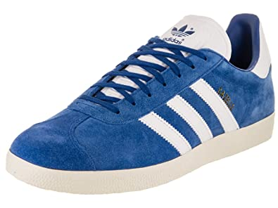 adidas Mens Gazelle Originals CroyalFtwwhtCwhite Casual Shoe 13 Men US