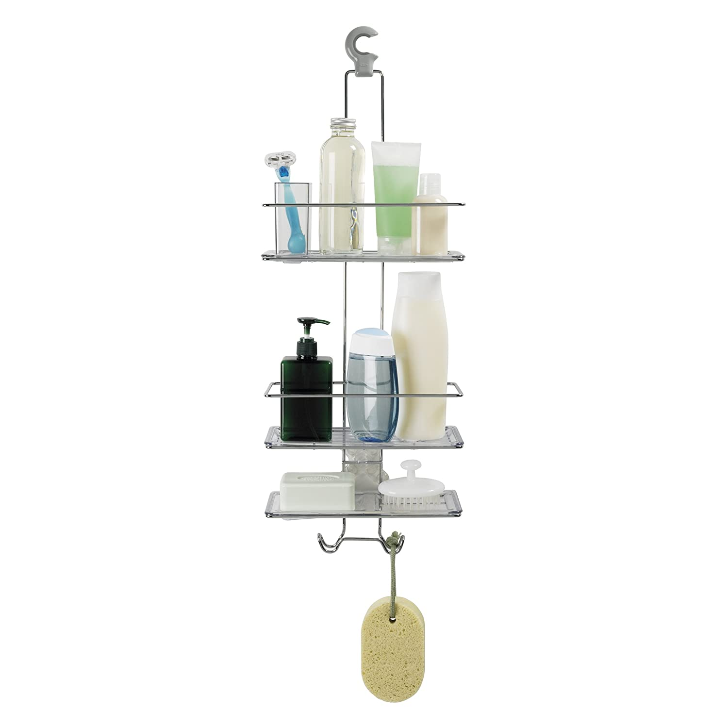 amazon com oxo good grips 3 tier shower caddy home kitchen