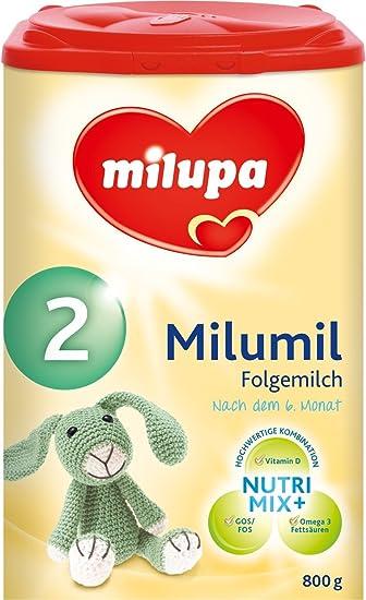 Milumil 2 leche de continuación - a partir de 6 meses, 4 unidades (4