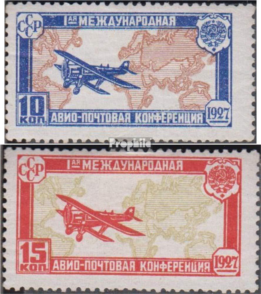 Prophila Collection Sowjetunion 326-327 (kompl.Ausg.) 1927 Luftpostkonferenz (Briefmarken für Sammler) Luftfahrt