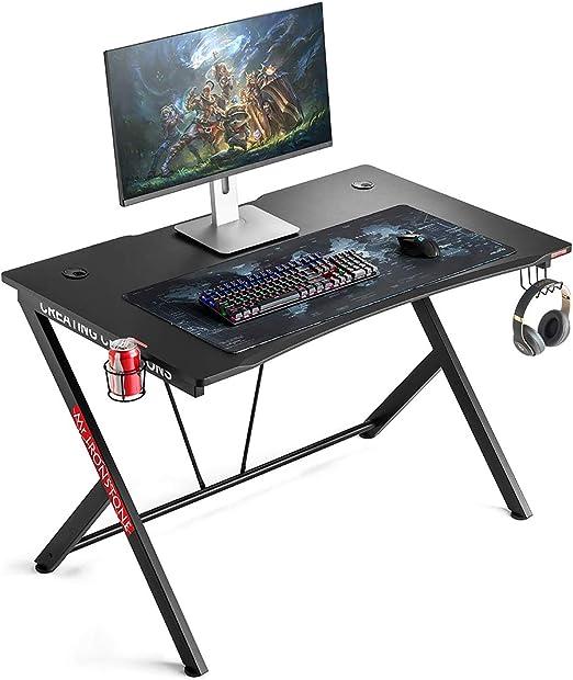 Mr. IRONSTONE Gaming Desk - Best gaming desk for compactness