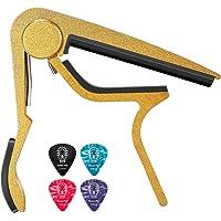 Donner - Capotasto per chitarra elettrica, cromato, Oro