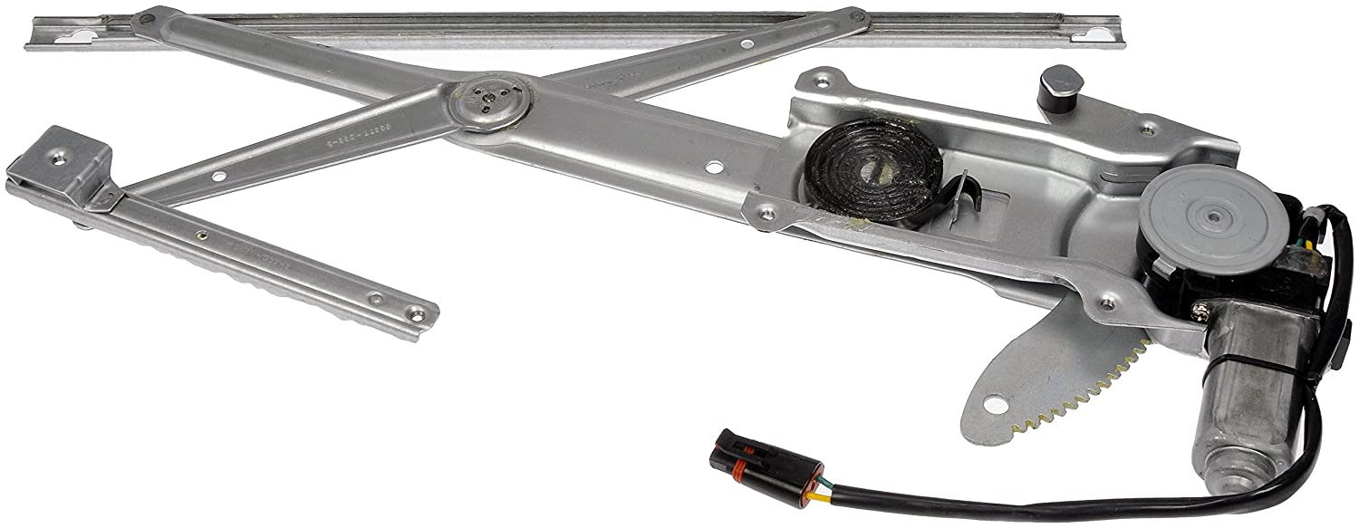 Dorman 741-856 Front Driver Side Replacement Power Window Regulator with Motor for Jeep Grand Cherokee//Wagoneer