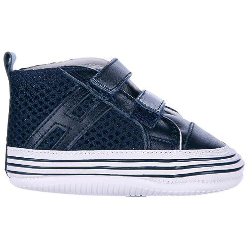 Hogan Sneakers Alte Olympia Bambino Blu 17 EU  Amazon.it  Scarpe e borse 7c9cef03a7d
