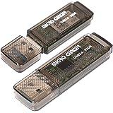 Micro Center SuperSpeed 2 Pack 32GB USB 3.0 Flash Drive Gum Size Memory Stick Thumb Drive Data Storage Jump Drive (32G 2…