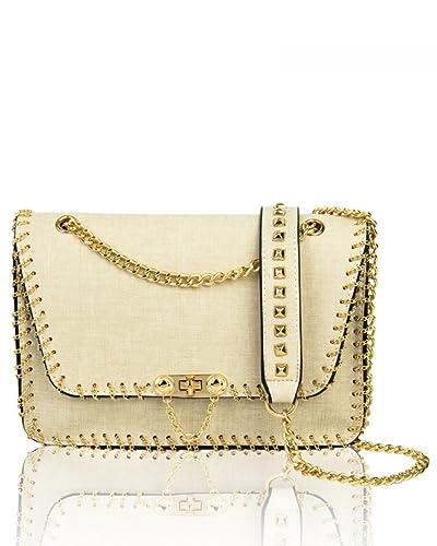 a583de7c8e LeahWard Women s Cross Body Bags Messenger Bag Chain Faux Leather Strap Shoulder  Bag For Party Wedding