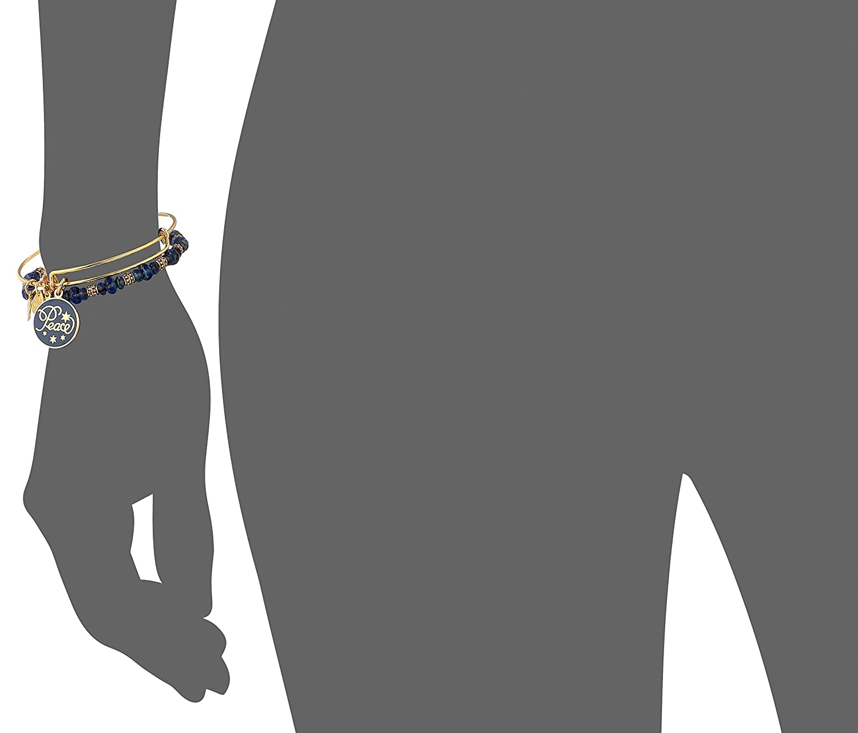 Alex Ani Holiday Peace Bracelet Image 2