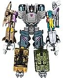 Transformers Generations Combiner Wars Bruticus Action Figure Set [Onslaught, Vortex, Brawl, Swindle and Blast Off]