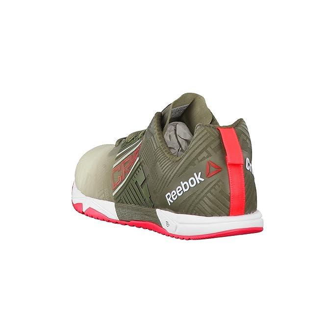 ReebokR Crossfit Sprint 2.0 SBL - Zapatillas de Deportes de Interior Hombre, Negro (Noir - Chalk/Olive/Cherry/White), Tamaño 43: Amazon.es: Zapatos y ...