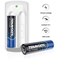 Deals on 2-PK TENAVOLTS First Generation Rechargeable Li-ion AA Batteries
