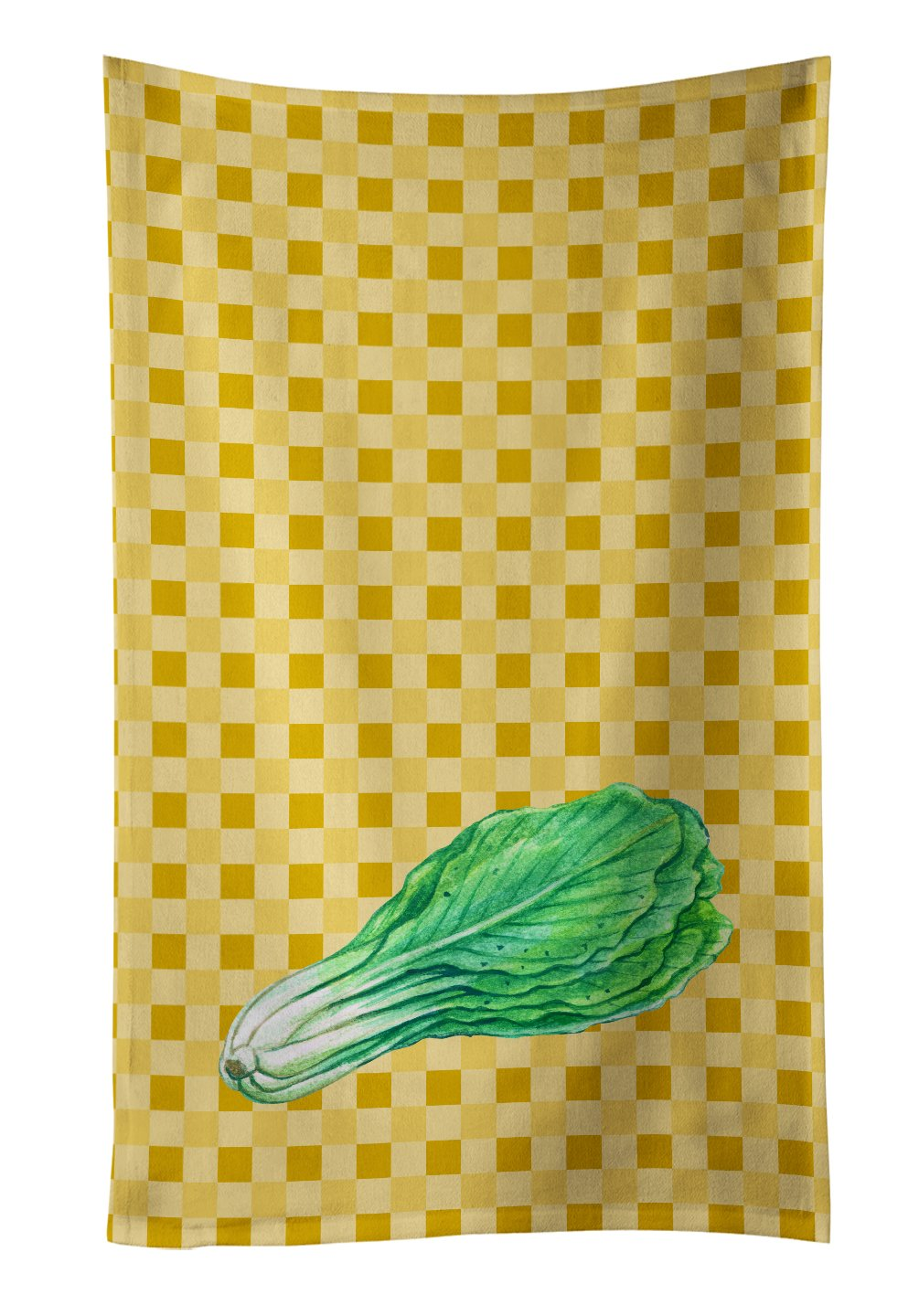 Caroline's Treasures BB7214KTWL Straw Mushroom on Basketweave Decorated dish towel, 25Hx15W, Multicolor